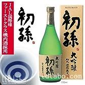 ■【JAL国際線採用】助けて!震災で東北のお酒がピンチ!★初孫 大吟醸 16度未満/720ml 山形