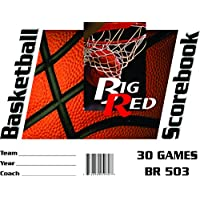 Big Red Basketball Scorebook