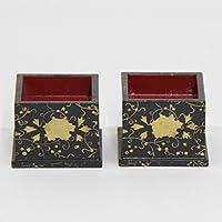雛道具 アウトレット品 火鉢単品(一対) 18ya1221 牡丹唐草