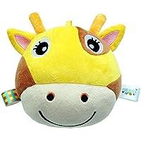 YChoice 可愛い赤ちゃんのおもちゃ ギフト 赤ちゃん 可愛い 黄色 鹿 ソフトハンドラトル ベル キッズ 赤ちゃん ファニー くちゃん ベル ボール おもちゃ ギフト