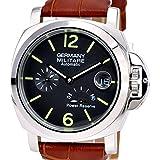 [マリーナミリターレ]GERMANY MARINA MILITARE ドイツ製腕時計 パワーリザーブ自動巻 MM-121S4AL(並行輸入品)