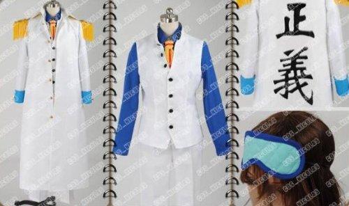 高品質コスプレ衣装 ONE PIECE ワンピース 海軍三大将 青稚 コスチューム、コスプレ