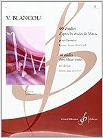 ブランクー: 40の旋律的で発展的な練習曲 第1巻/ランスロ/ビヨドウ社/クラリネット教本・練習曲