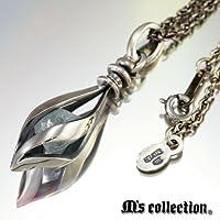 [エムズコレクション] M's collection シルバー925ペンダント/アクアマリン MAO-055-AQ