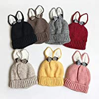 2017年耳帽子ベビー帽子可愛い帽子耳付きかっこいい7色
