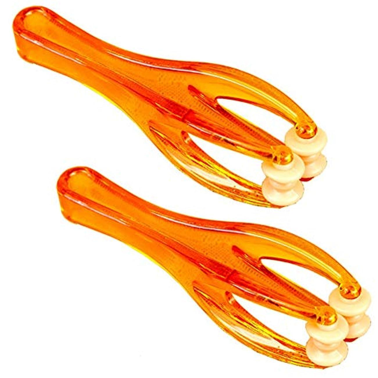 国ラベスカートマッサージャー、フィンガーローラーマッサージャー、手持ち式血液循環ツール、関節弛緩マッサージツール