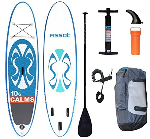 [해외]FISSOT 풍선 스탠드 업 패들 보드 SUP 보드 길이 318cm 두께 15cm 적재 중량 125kg 풀 세트/FISSOT Inflatable stand up paddle board SUP board Length 318 cm Thickness 15 cm Load weight 125 kg Full set