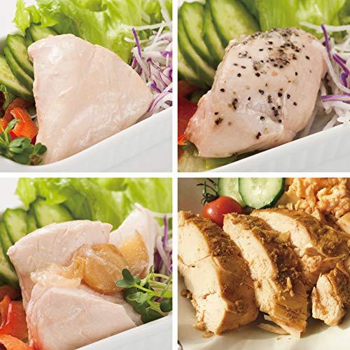 uchipac 国産サラダチキンセット 無添加・無菌・常温保存 賞味期限 260日 4種×各2個