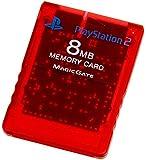 Playstation 2 専用メモリーカード (8MB) クリムゾンレッド