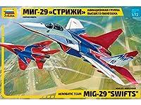 ズベズダ 1/72 ロシア空軍 MiG-29 Swifts プラモデル ZV7310