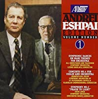 Music of Andrei Eshpai 1 by USSR LARGE SYMPHONY ORCHESTRA (1998-05-26)
