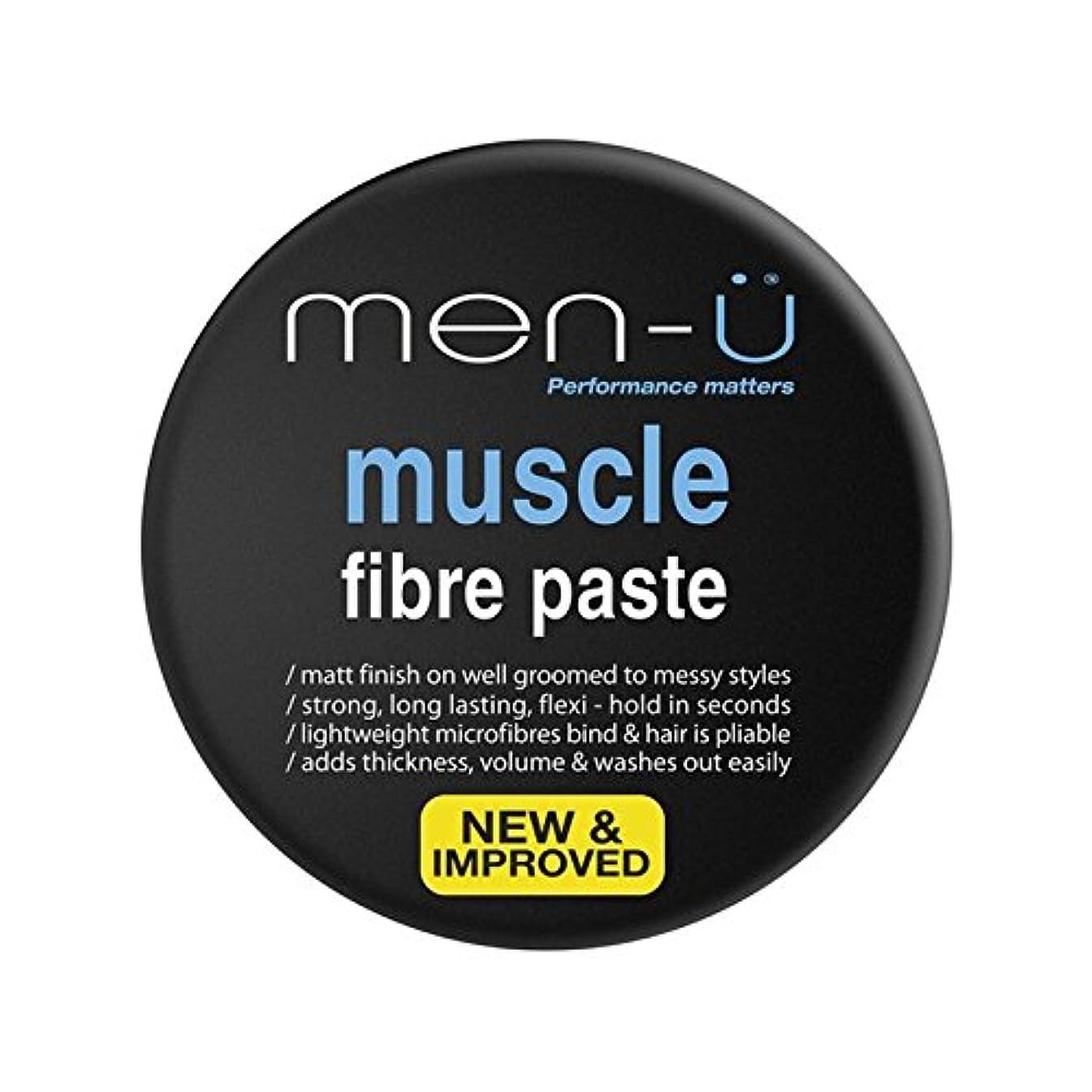 今後失効恩恵男性-?筋線維ペースト(100ミリリットル) x4 - Men-? Muscle Fibre Paste (100ml) (Pack of 4) [並行輸入品]