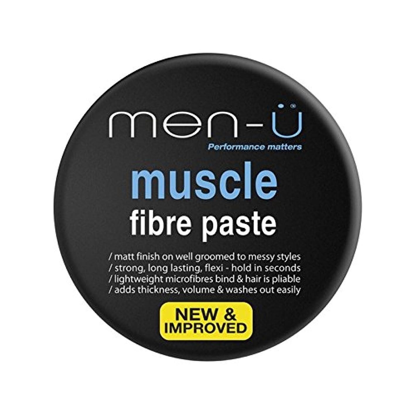 排除恥蜂男性-?筋線維ペースト(100ミリリットル) x4 - Men-? Muscle Fibre Paste (100ml) (Pack of 4) [並行輸入品]