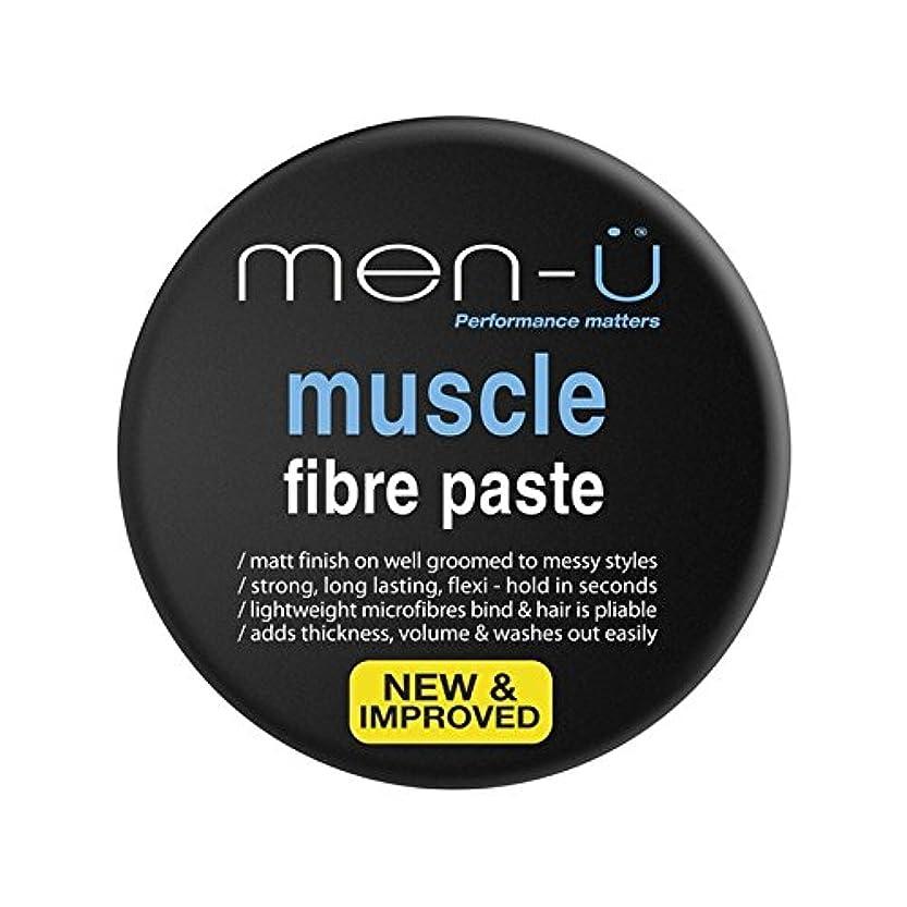 根拠包括的浮く男性-?筋線維ペースト(100ミリリットル) x4 - Men-? Muscle Fibre Paste (100ml) (Pack of 4) [並行輸入品]