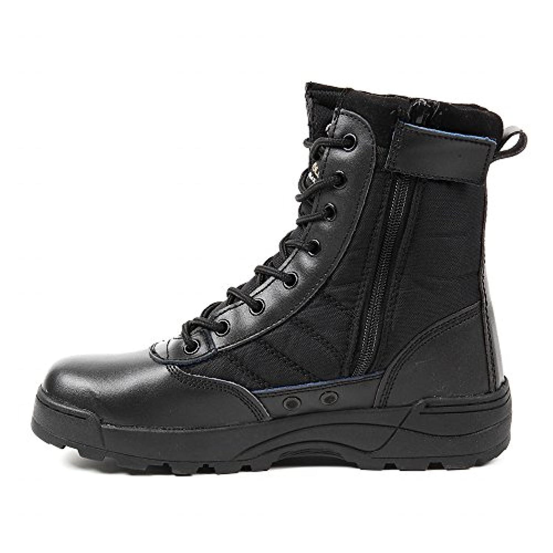 R-STYLE サバゲー や 登山 にも YKK監修 第三世代 サイドジッパー タクティカル ブーツ