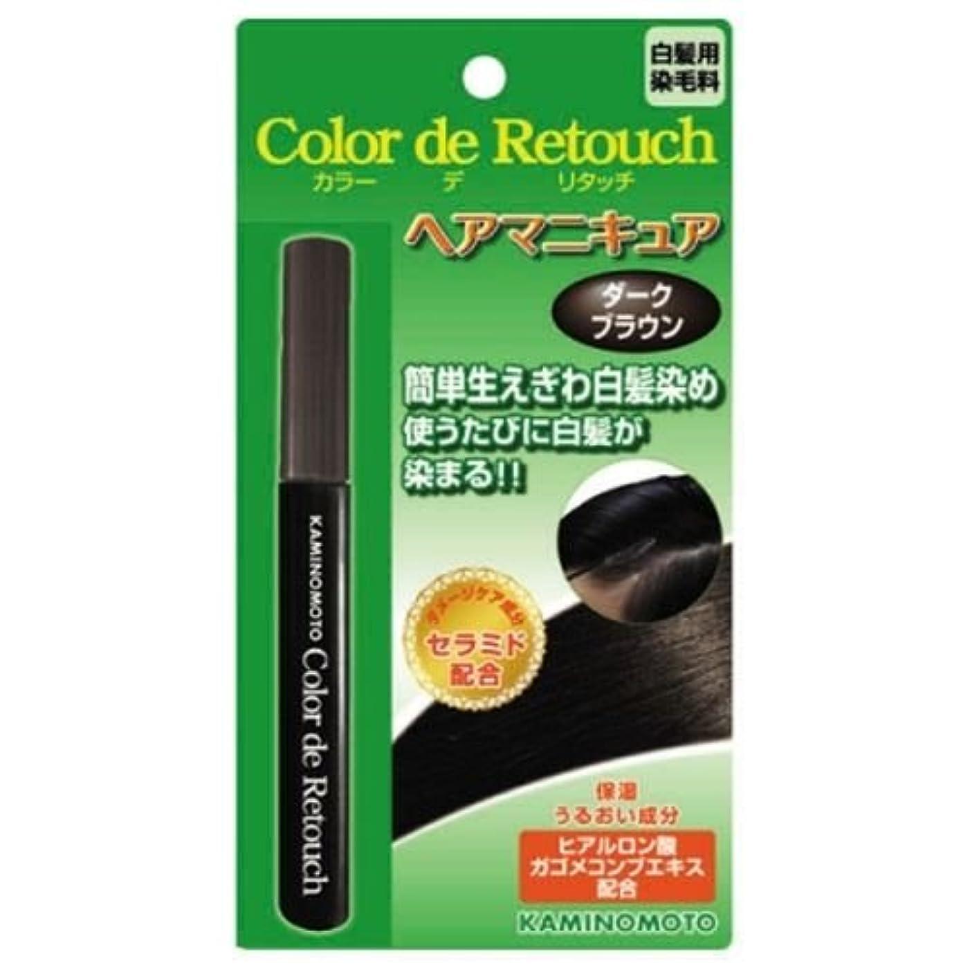 カラー デ リタッチ ダークブラウン 10mL ×2セット