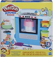 Play-Doh Kitchen Creations Rising Cake Oven Bakery Playset for Kids 3 Years and Up with 5 Modeling Compound Co