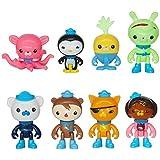 """Octonauts Octo-Crew 8 Figure Pack-2"""" - 3"""" Peso Kwazii Captain Barnacles"""