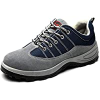 Unisex Safety Shoes Lightweight Steel Toe Shoes Breathable Non Slip Sneaker