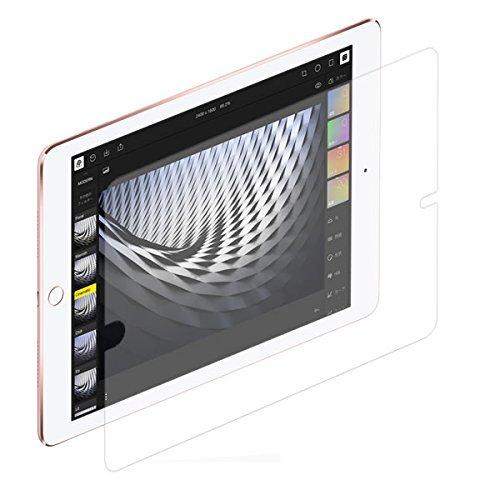 iPad 9.7 2018年モデル/iPad Pro 9.7インチ用【書き味向上】液晶保護フィルム ペーパーライクなペン滑り!
