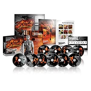 Insanity: The Ultimate Cardio Workout and Fitness DVD Programme. [Import]
