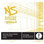 D'Addario NS Electric Cello Single Low F String 4/4 Scale Medium Tension 【TEA】 [並行輸入品]