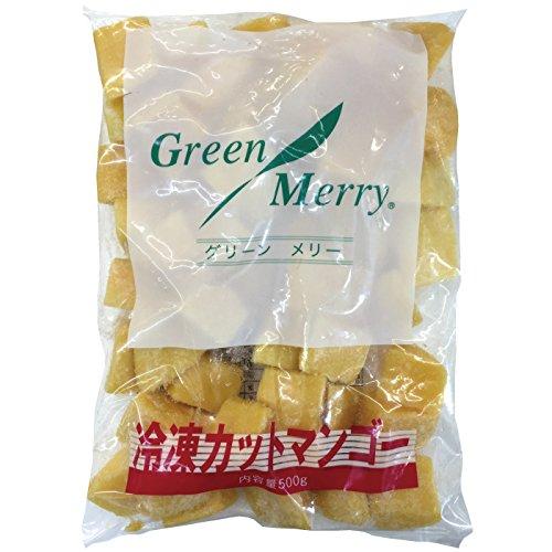 グリーンメリー 冷凍 カットマンゴー 500g