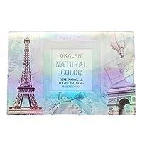 OKALAN Natural Color Dimensional Highlight Palette - Cool (並行輸入品)