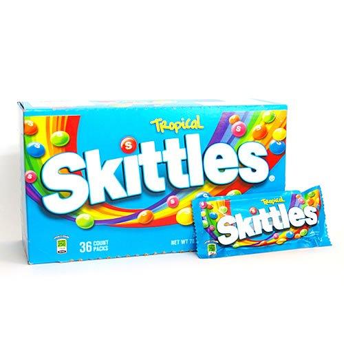 Skittlesスキットルズ トロピカル フルーツキャンディー 61.5g
