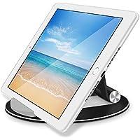 タブレット&スマホスタンドGOOJODOQ 角度調整可能 卓上 ホルダ iPad/iphone/Kindle/Nintendo Switch (ブラック)