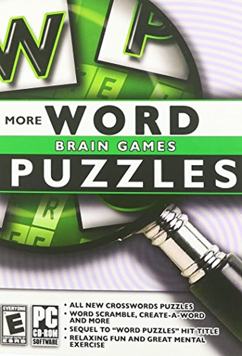 健全動的撃退するBrain Games: More Word Puzzles (輸入版)