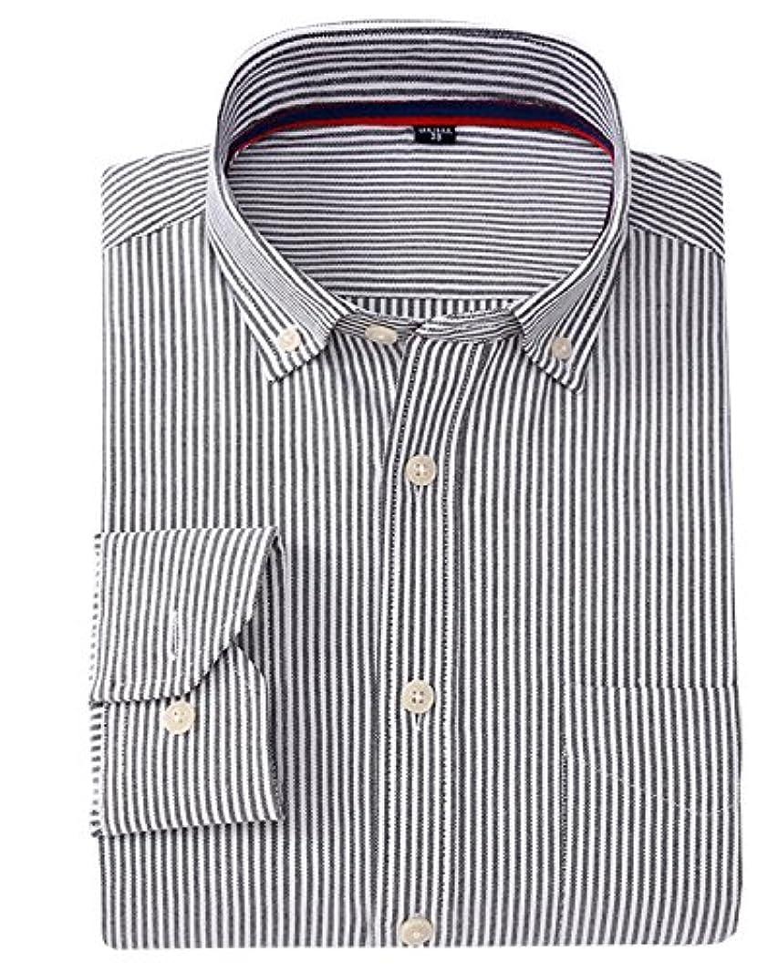 荒廃する会議採用するSANKE 形態安定加工 ビジネス ワイシャツ メンズ コットン長袖ワイシャツ レギュラー シャツ ストライプ ワイシャツ 格子 ワイシャツ Yシャツ ドレスシャツ 制服 10色 7サイズピンク238
