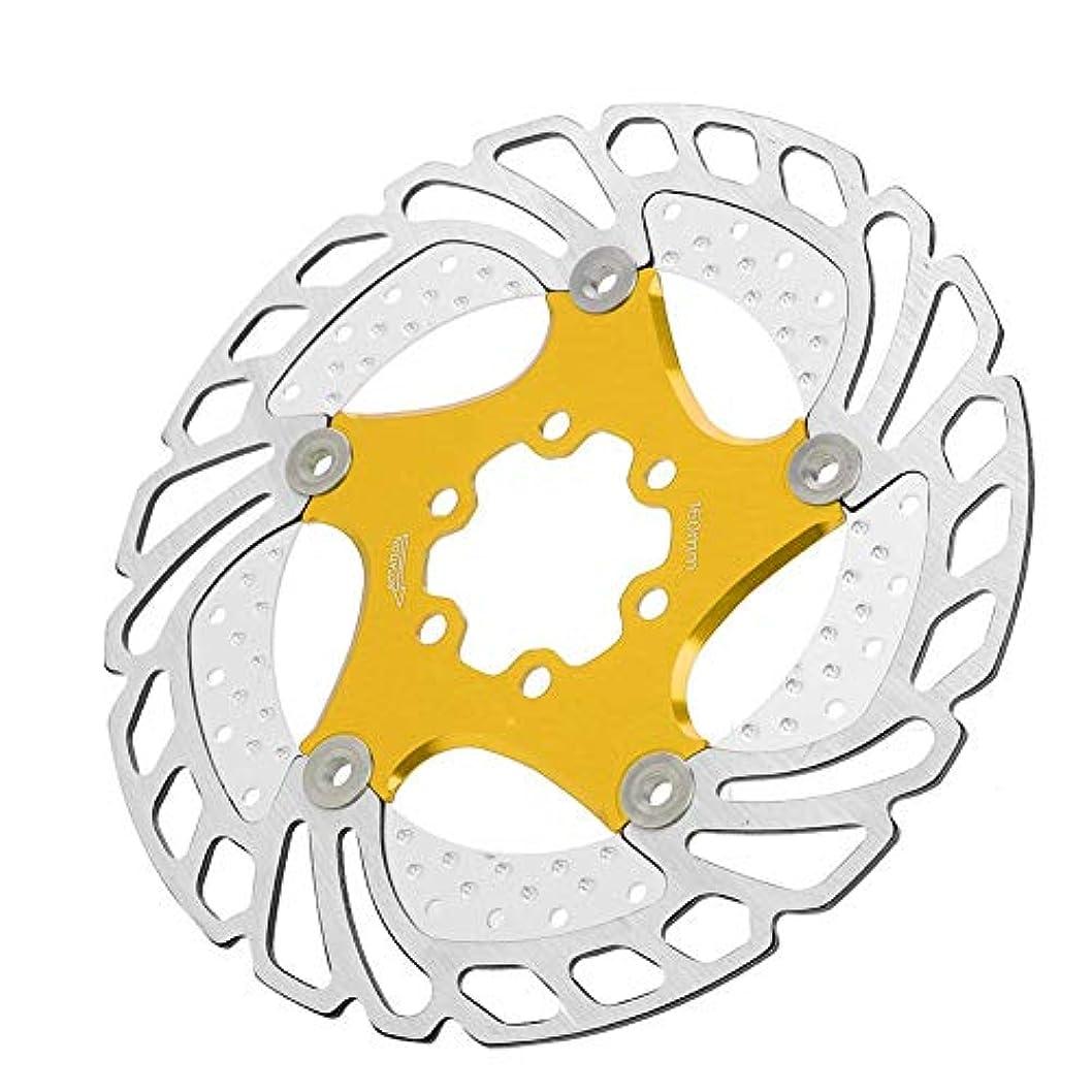 ラベル叙情的な脱臼するディスクローター 自転車のブレーキ盤 センターロック アルミ合金 サイクリング 6ボルト160mm マウンテンバイクに適用します