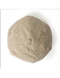 (JOIN?K) ベレー帽 コットン ナチュラル ざっくりベレー 綿100 レディース
