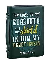 セットの2Strong and Courageous聖書カバー