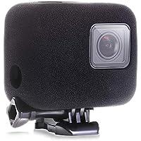 【ActyGo】GoPro HERO 5 6 7 用 防風カバー 防風スポンジケース 騒音防止 録音ノイズ対策 スポンジ製カバー ケース 1年保証付