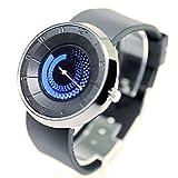 メンズ ファッション ZooooM 腕 時計 ファッション おしゃれ メンズ レディース アナログ クォーツ ウォッチ シリコン (ブルー) ZM-NUZI785-BL