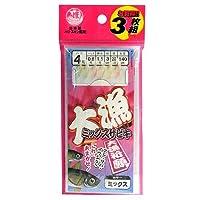 TAKAMIYA(タカミヤ) 大漁ミックスサビキ  針4号-ハリス0.8号