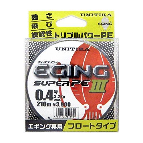 [해외]유니 치카 (UNITIKA) 캐시 라인 에깅 슈퍼 PE III 210m/Unitika (UNITIKA) Cass Line Egging Super PE III 210 m