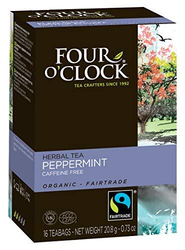 フォー・オックロック 有機ハーブティー ペパーミント 1.3g×16袋