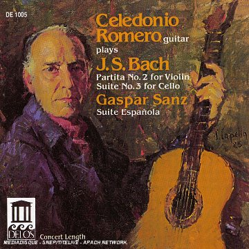 Bach/Sanz-Recital Guitare
