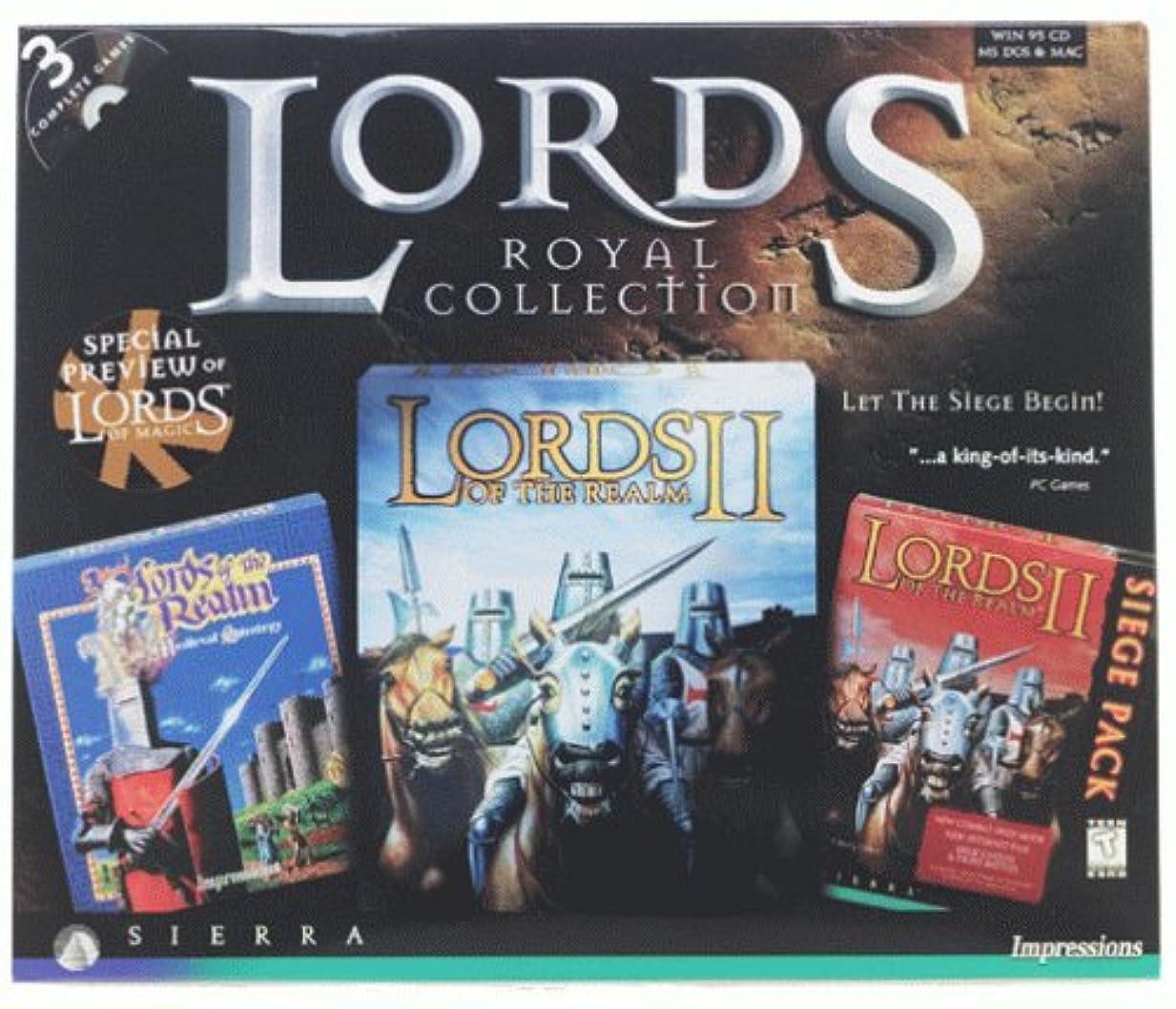 もの入植者プロポーショナルLords of the Realm: Royal Collection (輸入版)