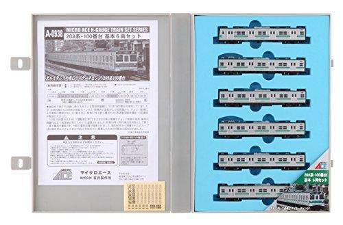 Nゲージ A0938 203系-100番台・基本6両セット