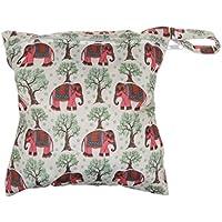 SONONIA 防水 再利用可能 赤ちゃん ジッパー おむつ袋 ウェット ドライ 水泳 トラベル トート バッグ 収納バッグ 全11色 選べる - #11
