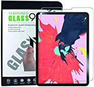 Tersely Screen Protector for New iPad Pro 11 2020(2018), [Full Screen Covered],[Face ID] Premium 9H Tempered G