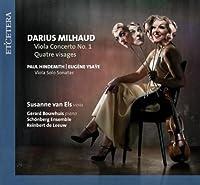 Viola Concerto No 1 by MILHAUD / HINDEMITH / YSAYE (2009-11-10)