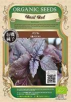 株式会社グリーンフィールドプロジェクト バジル<赤バジル> ×3個セット 野菜/種