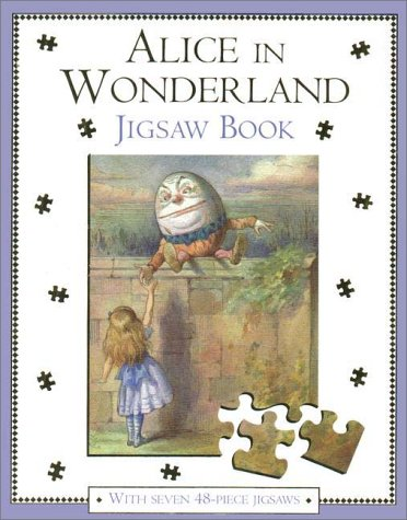 Alice in Wonderland Jigsaw Bookの詳細を見る