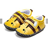 FAJ Soft Sole Handmade Cute Animal Leather Baby Shoes