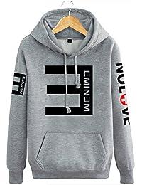 c650eec0bf45d Eminem演出服 エミネム RAP反Eパーカー フード付き カップルお揃いジャージ パーカー 応援服 ヒップホップ  4色入り 秋冬 防寒  男女兼用ペアルック トレーナー…